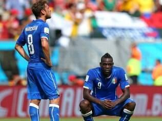 Itália foi mais uma decepção desta Copa do Mundo