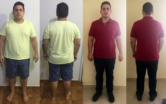 Fernando, o marido de Carla, também fez parte desse projeto em família de encontrar motivação para emagrecer