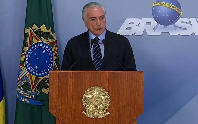 Michel Temer chama o Exército para garantir a normalidade nas estradas do Brasil