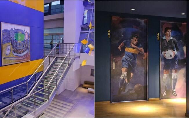A Seleção Sport Hotel, está localiza em Setúbal, Portugal, e homenageia os craques do campo, da areia e do futsal