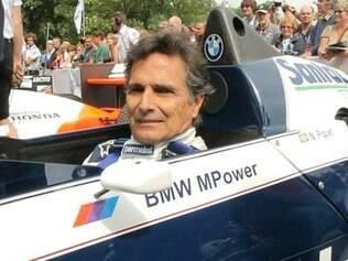 Nelson Piquet está com 62 anos de idade
