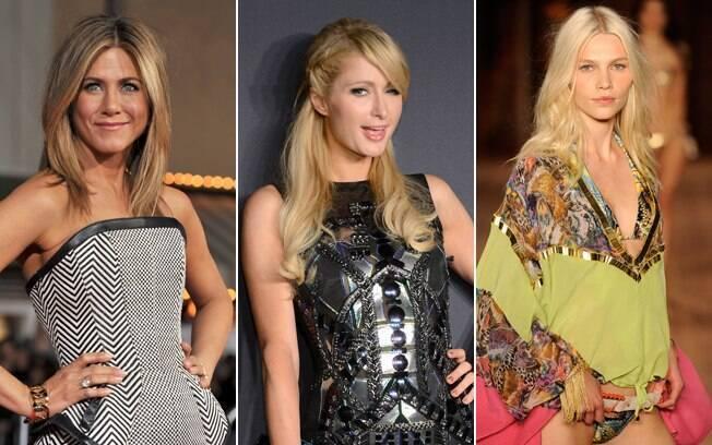 Jennifer Aniston, Paris Hilton e Aline Weber também inspiram os loiros da temporada