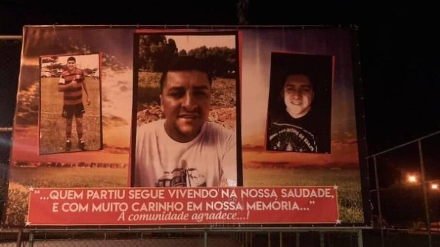 Outdoor colocado na zona oeste do Rio faz homenagem à Ecko, morto após reagir a prisão