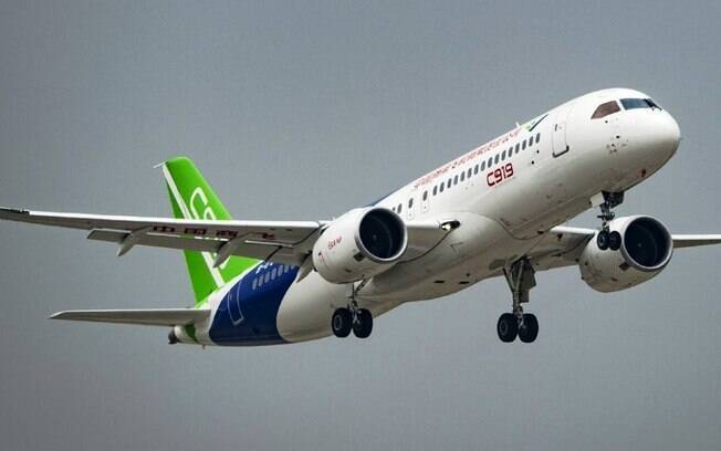 Comac C919: o jato chinês que concorre com o Boeing 737 e o Airbus A320 mostram a força da tecnologia chinesa
