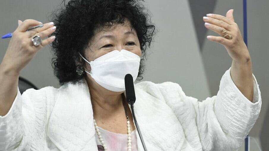 Nise Yamaguchi durante oitiva da CPI