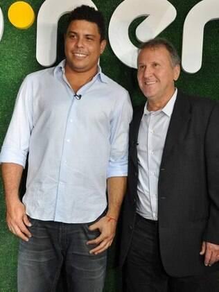 Ronaldo Nazário e Zico falam sobre parceria em projeto