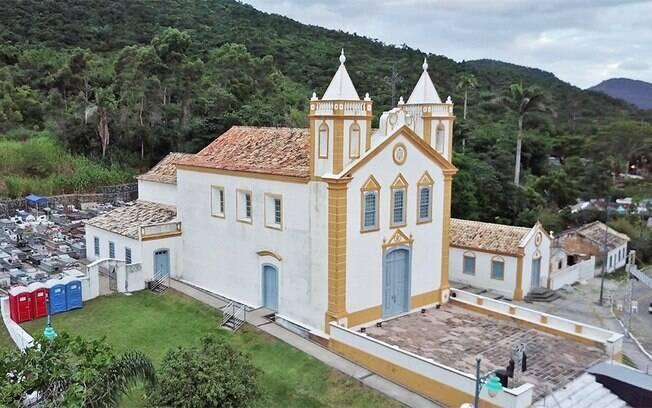 A Igreja Nossa Senhora da Lapa demorou mais de 30 anos para ser construída