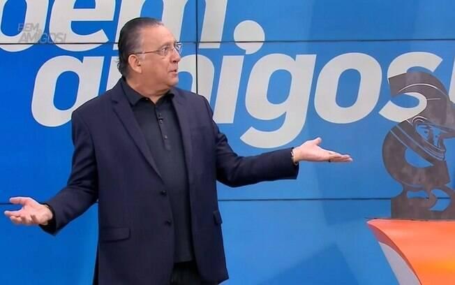 Galvão Bueno no programa