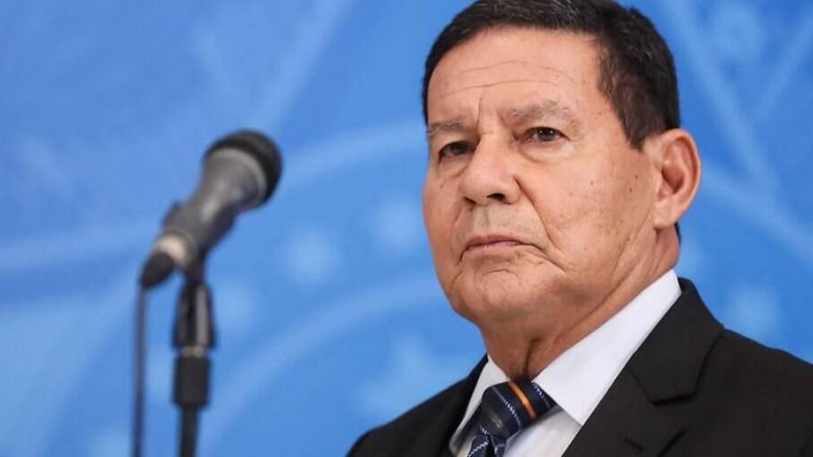 Vice-presidente Hamilton Mourão (PRTB)