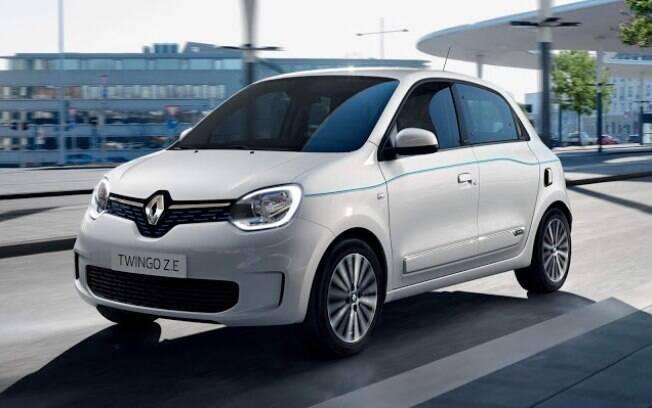 Renault Twingo da nova geração vai fazer parte da linha de modelos elétricos da marca francesa, que vende o Zoe no Brasil