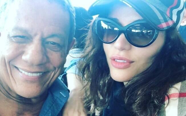 O namorado de Maria Melilo é um empresário de Manaus de 75 anos