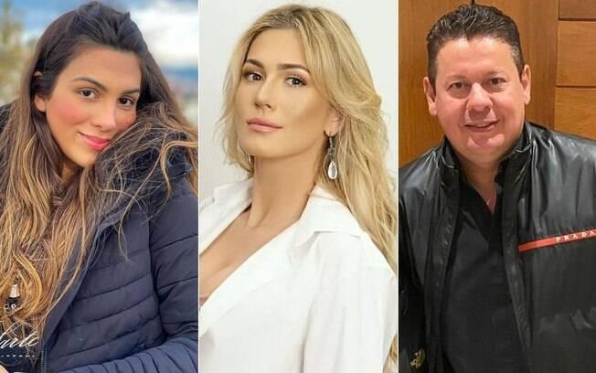Pétala Barreiros, Lívia Andrade e Marcos Araújo