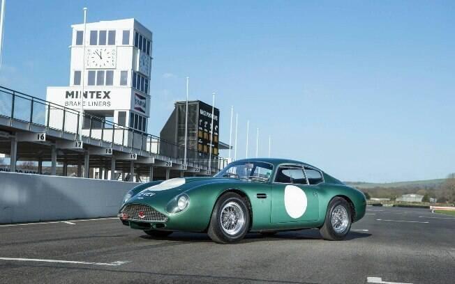 Aston Martin DG4GT Zagato: É um dos únicos três exemplares feitos com especificações de corrida