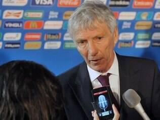 José Pekerman comanda a Colômbia e espera um bom desempenho de seus comandados na Copa do Mundo
