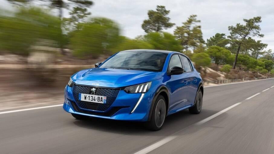 Peugeot e-208 GT, um dos vários modelos elétricos que serão lançados no Brasil em 2021