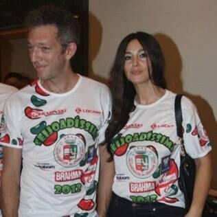 Vincent Cassel e Monica Bellucci estavam morando no Brasil no último ano