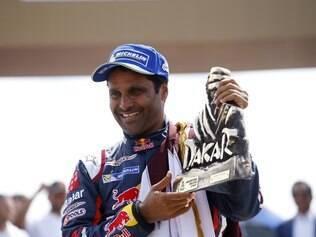 Nasser também foi campeão dos carros no Rally Dakar de 2015