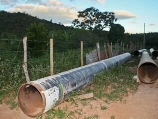 Área afetada na região do Turco, distrito de Conceição do Mato Dentro. Foto: Mariela Guimarães