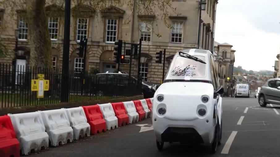 O DryCycle pode ser usado na Inglaterra sem pagar impostos e estacionamentos por ser considerada uma bike elétrica