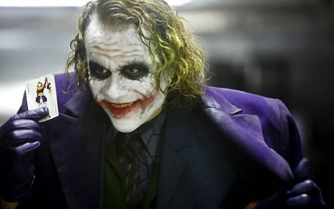 Heath Ledger como Coringa em