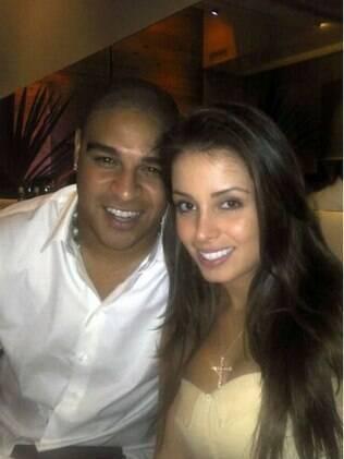 Adriano e Luana Kisner: fim do romance