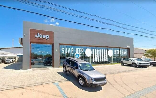 Umas das oito concessionárias da Jeep escolhidas entre as melhores da marca ao longo de 2020 no mercado brasileiro