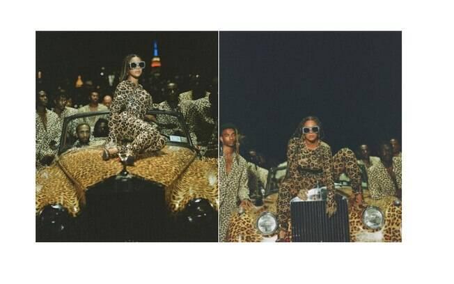 Beyoncé se inspirou em tradições africanas para seu look de animal print