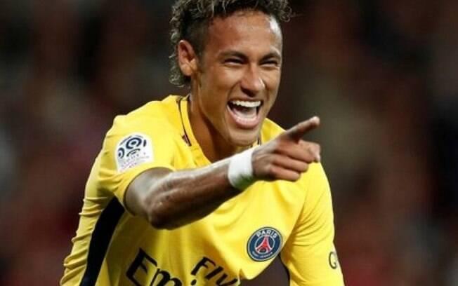 Os posts do jogador Neymar no último mês somam 1.989.290 curtidas e compartilhamentos