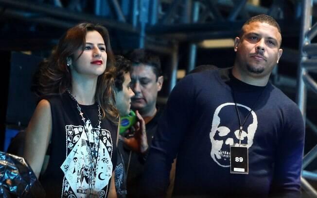 A festa de casamento de Ronaldo Fenômeno e Paula Morais, antes marcada para 2014, foi adiada e deve acontecer em 2015. Foto: Manuela Scarpa/Photo Rio News