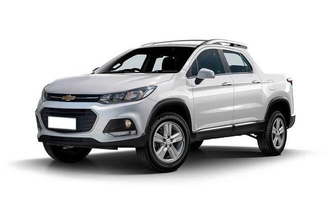 Nova picape da GM: projeção toma como base o design do SUV compacto Tracker