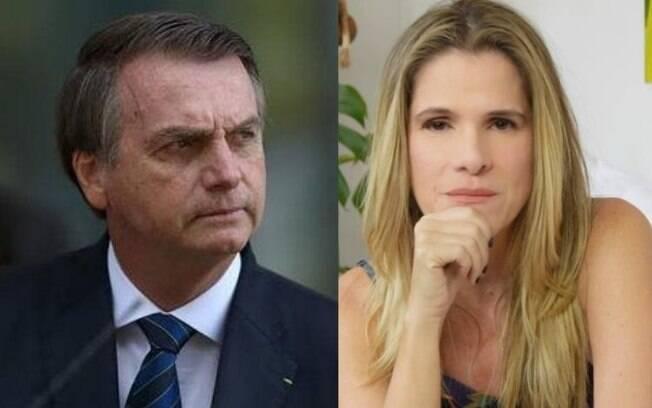 Bolsonaro e Ingrid Guimarães