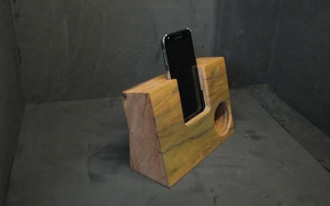 2GL vende amplificadores de som para celular que não utilizam nenhum componente eletrônico