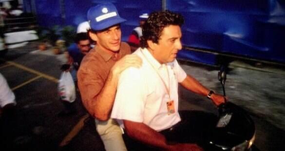 """Galvão Bueno sobre amizade com Senna: """"A gente se divertia demais"""""""