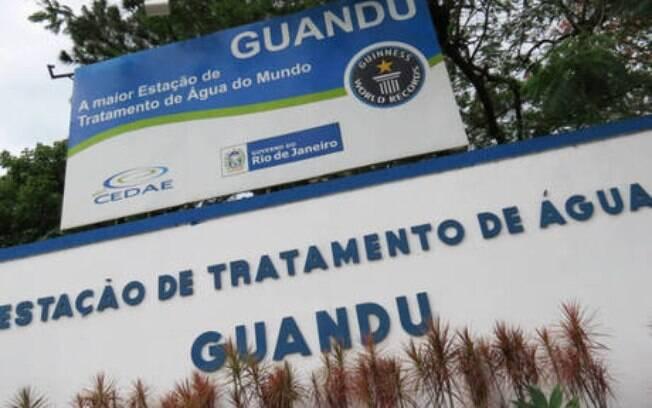 Problema aconteceu no Reservatório de Guandu