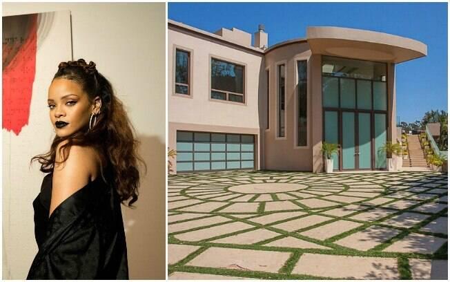 Rihanna está vendendo sua mansão em Los Angeles por quase R$50 milhões