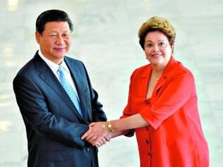 Parcerias.   Presidente da China, Xi Jinping, teve encontro reservado ontem com a presidente Dilma