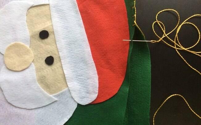 Almofada de Natal: costure a almofada