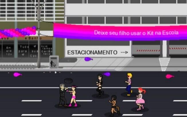 Jogo com Bolsonaro apresenta diversas sátiras com personagens políticos considerados inimigos do candidato à Presidência
