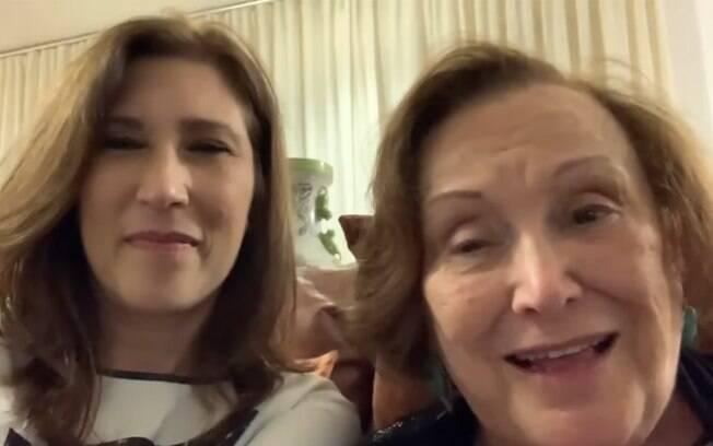 Nicette Bruno e Beth Goulart falam sobre sperança em dias melhores em vídeo