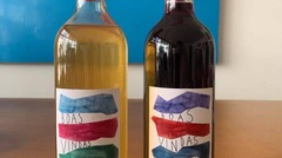 Primeiros vinhos de boas-vindas
