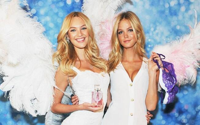Candice Swanepoel e Erin Heatherton: as tops