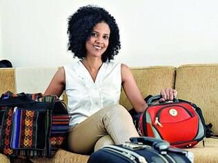 À espera.  Designer Sheilla Antão já se prepara para viajar muito neste ano, seja para destinos bem próximos e também para a Disney