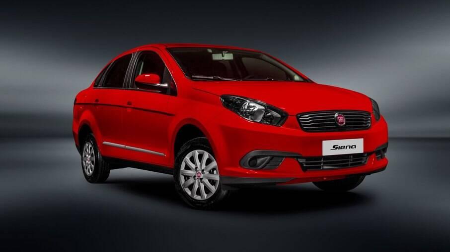 Fiat Grand Siena é o sedã de entrada mais barato do Brasil e um dos modelos enquadrados na promoção