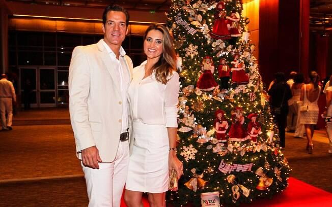 Carlos Machado e a mulher, Ivy Rocha