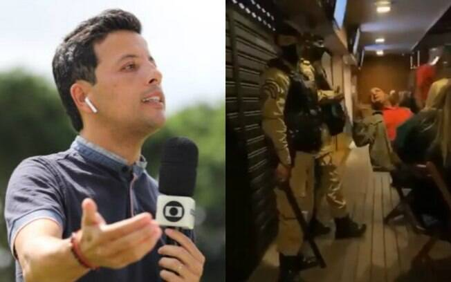 André Hernan%2C repórter da Globo