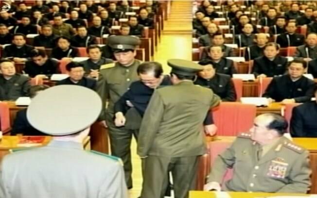Imagens do julgamento do norte-coreano Jang Song Thaek. Ele foi executado (Arquivo)