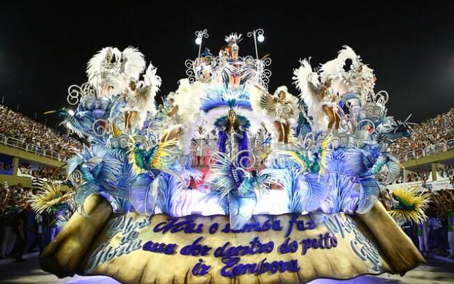 Beija-Flor de Nilópolis foi a grande campeã do carnaval 2018