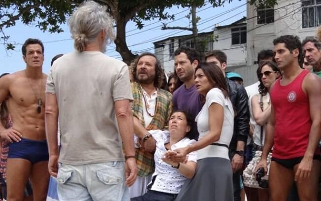 Griselda fica nervosa com o reencontro com o marido
