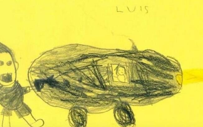 Segundo os policiais, os desenhos vão ajudar nas investigações