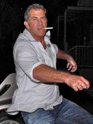 Mel Gibson em julho quando tentou agredir um paparazzi